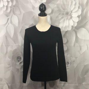 J. Crew Mercantile Black Long Sleeve Sweater XS